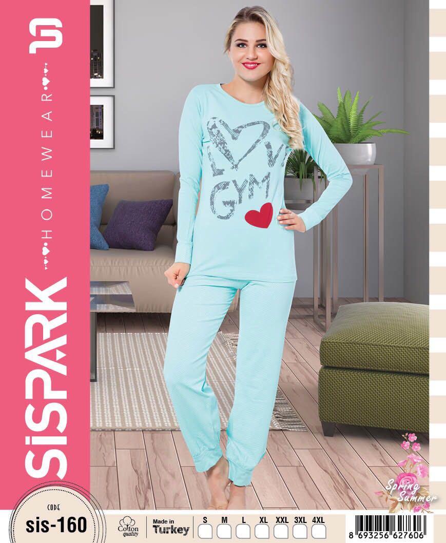 e8356e5bafc27 Пижама для девушек, арт. 160, Sispark - Dassimisi.RU