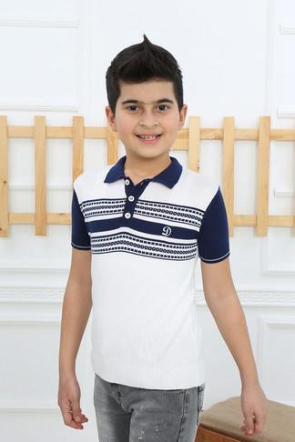 Футболка- поло для мальчика (арт. 11305) Dassimisi - фото 4