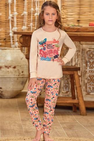 Пижама для девочки (арт. 9137) Baykar - фото 1