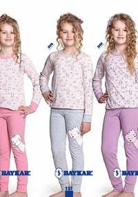 Пижама для девочки, (арт. 9341)