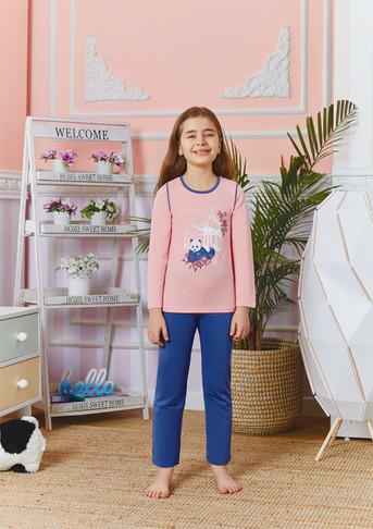 Пижама для девочки, (арт. 9254)