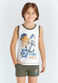 Пижама для мальчика, (арт. 9680)