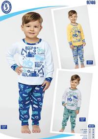 Пижама для мальчика, (арт. 9746)