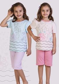 Пижама для девочки, (арт. 9038)