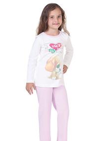 Пижама для девочки, (арт. 9003)