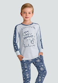 Пижама для мальчика, (арт. 9668)