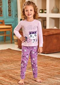 Пижама для девочки, (арт. 9123)