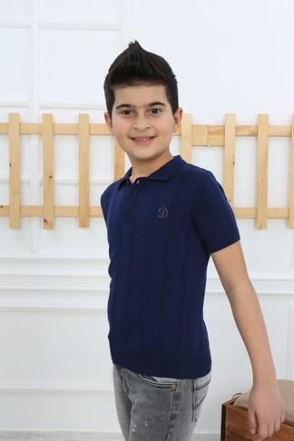 Футболка-поло для мальчика (арт. 11309) Dassimisi - фото 3