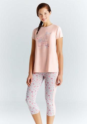 Пижама для девочки, (арт. 9221)