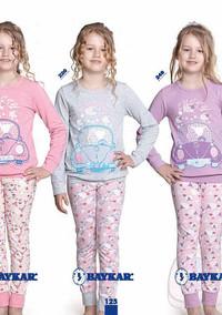Пижама для девочки, (арт. 9335)