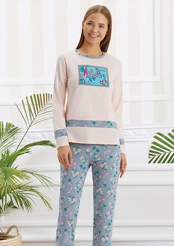 Пижама для девочки, (арт. 9263)