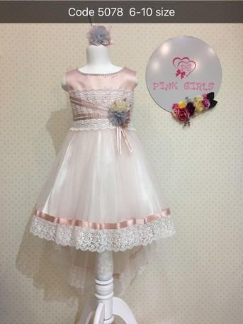 Платье для девочки, (арт. 5078)