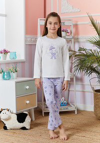 Пижама для девочки, (арт. 9253)