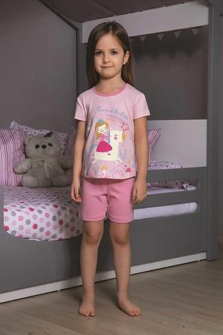 Пижама для девочки, (арт. 9105)