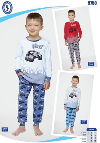 Пижама для мальчика, (арт. 9750)