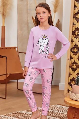 Пижама для девочки (арт. 9138) Baykar - фото 1