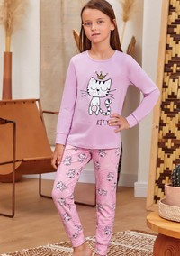Пижама для девочки, (арт. 9138)