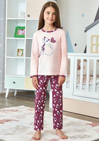 Пижама для девочки, (арт. 9248)