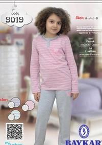 Пижама для девочки, (арт. 9019)