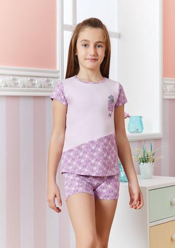 Пижама для девочки, (арт. 9215)