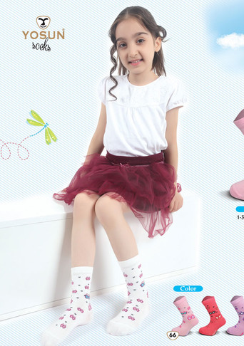 Носки для девочки  (арт. 3847)