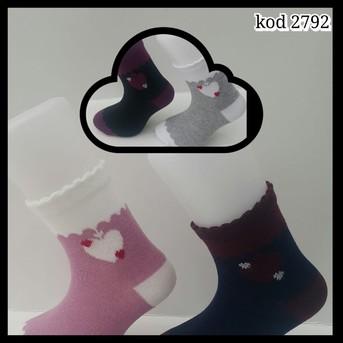 Носки для девочки, (арт. 2792)