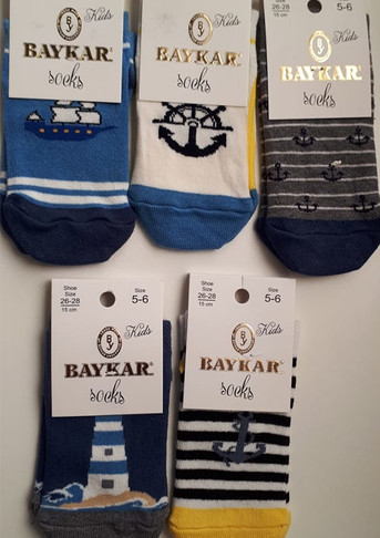 Носки для мальчика, (арт. 1007)