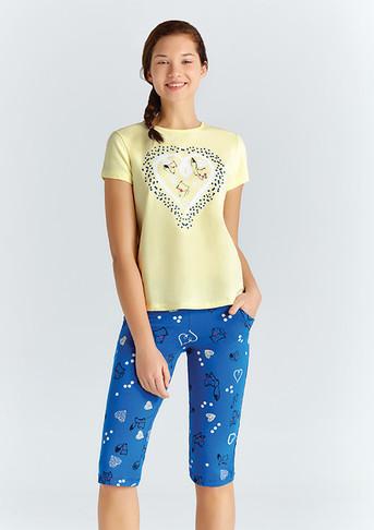Пижама для девочки, (арт. 9361)
