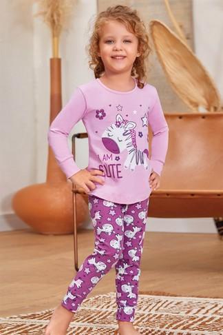 Пижама для девочек (арт. 9132) Baykar - фото 1