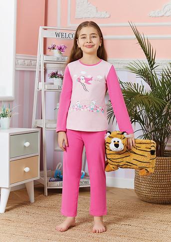 Пижама для девочки, (арт. 9250)