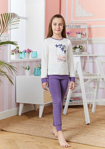 Пижама для девочки, (арт. 9239)