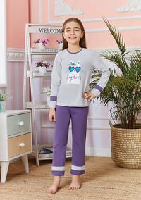 Пижама для девочки, (арт. 9247)