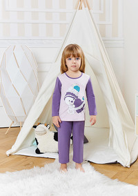 Пижама для девочки, (арт. 9231)