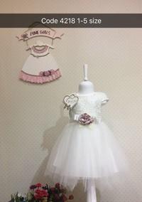 Платье для девочки, (арт. 4218)