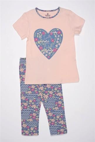 Пижама для девочки, (арт. 9286)