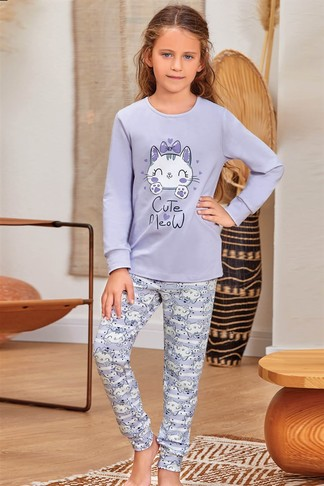 Пижама для девочки (арт. 9139) Baykar - фото 2