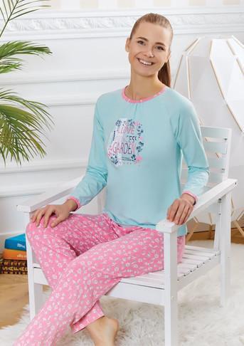 Пижама для девочки, (арт. 9202)