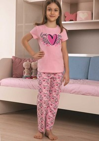 Пижама для девочки, (арт. 9108)