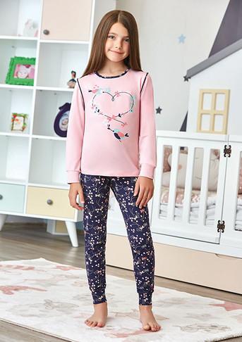 Пижама для девочки, (арт. 9260)