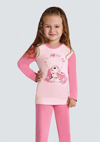 Пижама для девочки, (арт. 9381)