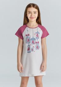 Ночная сорочка для девочки, (арт. 9216)