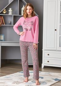 Пижама для девочки, (арт. 9265)