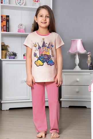 Пижама для девочки, (арт. 9109)
