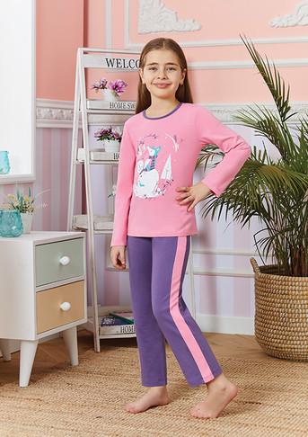 Пижама для девочки, (арт. 9246)