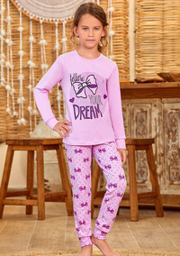 Пижама для девочки, (арт. 9149)