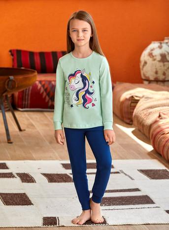 Пижама для девочки (арт. 9136) Baykar - фото 3