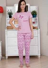 Пижама для девочки, (арт. 9117)