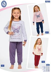 Пижама для девочки, (арт. 9299)
