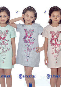 Ночная сорочка для девочки-подростка, (арт. 9319)
