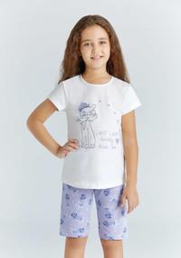 Пижама для девочки, (арт. 9214)